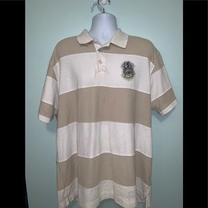 Men's 3x Kani Gold Polo Tan/White Used